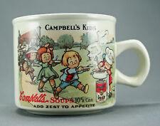 Campbell Soup Kids Westwood Mug Cup 1994 Replica 1910 Souvenir Postcard