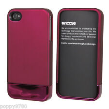 Incase Metallic Slider Shell Case for iPhone 4 4S + Stand  Dark Mauve Purple