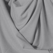 zinn grau Dekostoff Multistoff Bekleidungs-Stoff Allround - Gardine Tolko