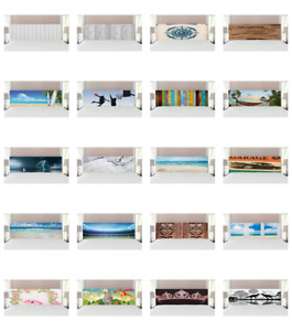 Ambesonne Headboard Upholstered Decorative Metal Bed Headboard with Memory Foam