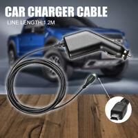 12V-24V 1500mA Car Navigator Charger Power Supply Adapter Cord For Garmin GPS
