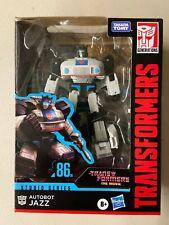 Transformers Studio Series 86-01 Deluxe Autobot Jazz The Animated Movie MIB