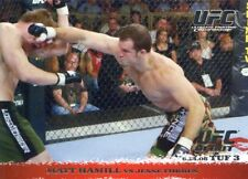 2009 TOPPS UFC ROUND 1 ROOKIE RC DEBUT MATT HAMILL #43