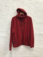 Arsenal FC Official Men's Club Heritage Hooded Jacket - Medium - Red - New