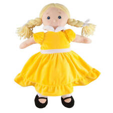 Big Sister Doll with Birthstone Color Dress, November, Yellow, Small
