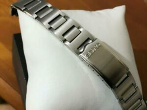 19mm Seiko pepsi pouge 6139 6000 6002 6005 gents watch strap s/steel solid.