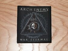 ARCH ENEMY - WAR ETERNAL (NEW) SEW ON W-PATCH OFFICIAL BAND MERCH