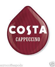 Tassimo Costa Capuchino, 24 T Discos 12 porciones (12, 12 de leche del café) Vendido Suelto
