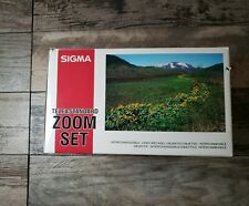 Sigma Tele & Standard Zoom Lens Set For Minolta/Sony A-Mount Excellent Condition
