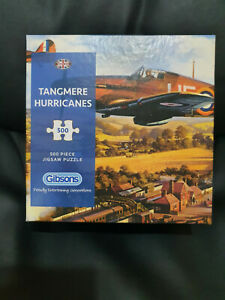 Gibsons G3418 Tangemere Hurricanes 500 pce special boxing jigsaw puzzle