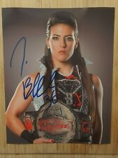 "Tessa Blanchard  Hand Signed  Autograph  8x10"" Photo 225546"