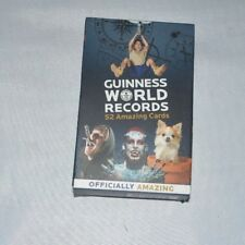 Guiness World Records 52 Amazing Cards Free Post  Playing Cards