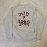 Vintage 90s Indiana University Hoosiers Sweatshirt Mens XL Reverse Weave College