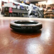 Olympus OM to Olympus Four Thirds Mount Adaptor