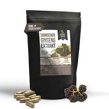 120 Kapseln Sibirischer Ginseng Extrakt | Eleutheroside laborgeprüft Taigawurzel
