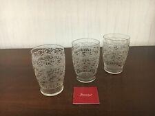 3 verres à whisky Rohan en cristal de Baccarat (prix à la pièce)