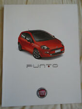 Fiat Punto range brochure Jul 2013