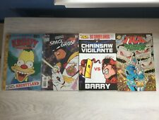 1st Issues, 4 Comics All Ages Lot. The Tick, Simpson's Krusty, Space Ghost
