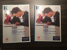 ACCA F2 MANAGEMENT ACCOUNTING TEXT BOOK AND EXAM KIT 2016-2017