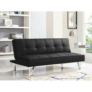 Serta Chelsea 3-Seat Multi-function Upholstery Fabric Sofa, Charcoal