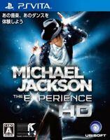 USED PS VITA Michael Jackson The Experience HD PSV 02394 JAPAN IMPORT