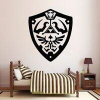 Cartoon Legend of Zelda Wall Sticker Removable Self Adhesive Watercolo For Kids
