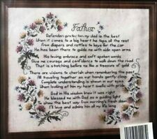 """Janlynn """"Father"""" #80-03 Stoney Creek Counted Cross Stitch complete Kit"""