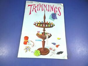 Vintage 1946 Trimmings Magazine The Spool Cotton Company Book No. S-22