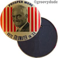 Vintage 1964 Goldwater Campaign Antenna Flag Topper