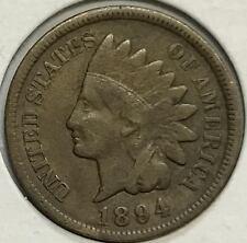 1894  VF/XF   INDIAN HEAD CENT  NICE HIGH GRADE COIN  #123