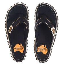 Gumbies Canvas Flip Flops Sandals & Beach Shoes for Women