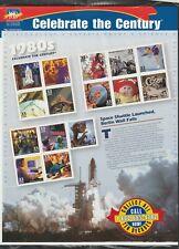 Us History #3190 Celebrate The Century 1980's 15 Mvf Sealed 33c Stamp Sheet Nip