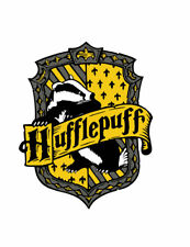House Hufflepuff Iron on Screen Print for fabric Machine Washable patch Hogwarts