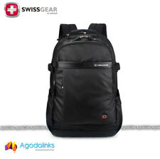 "SwissGear Wenger Laptop Backpack 15.6"" Notebook Schoolbag Black sa9898blk"