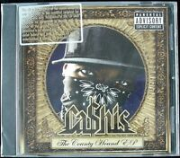 "CA$HIS ""THE COUNTY HOUND"" 2007 CD PROMO EP 8 TRACKS GANGSTA RAP ~RARE~ *SEALED*"