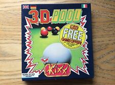 3D Pool Atari St Game! Complete! Look At My Other Games!