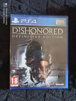 PLAYSTATION 4 PS4 - DISHONORED DEFINITIVE EDITION - NEUF NEW SEALED