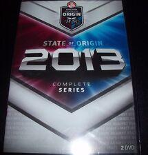 State Of Origin 2013 Series (Australia Region 4) 2 DVD New