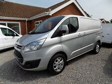 SUPERB FORD TRANSIT CUSTOM 2.2 TDCI 155 PS LIMITED 1 OWNER, MOONDUST SILVER