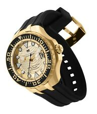 Technomarine Tm-118088 2019 Grand Cruise Blue Reef Gold & Gold Dial Automatic!