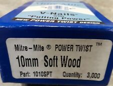 ITW Amp Genuine Mitre-Mite V-Nails with Pulling Power 10mm Soft Wood 1010SPT 3m