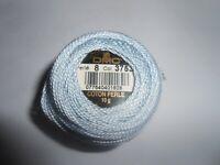 DMC Perle 8 Cotton 10g Pale Blue Colour Number 3753