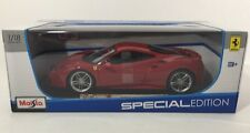 1/18 Maisto Ferrari 488 GTB Special Edition Red Paint NIB
