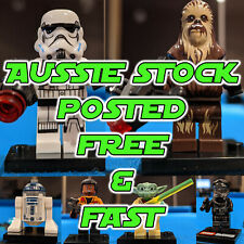 Star Wars Minifigures Fits LEGO, Darth Vader, R2d2 Chewy Storm Trooper Mini figs