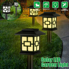 Waterproof Solar Garden Lawn Lamp Outdoor Yard Pathway Patio LED Light Landscape
