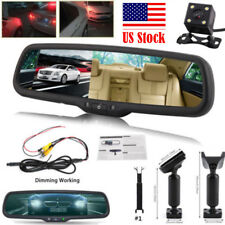 "4.3"" TFT LCD Car Rear View Mirror Monitor Backup Camera Built-in Special Bracket"