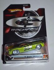 2006 HOT WHEELS G MACHINES TRACK LEGENDS SERIES 1 '71 DODGE CHALLENGER 1/11