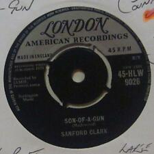 "Sanford Clark(7"" Vinyl 1959 1st Issue 2nd State)Son Of A Gun-Ex/Ex"