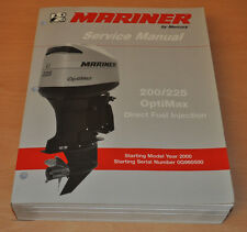 Mercury 200 225 Optimax Direct Fuel Injection Werkstatthandbuch Aussenbordmotor