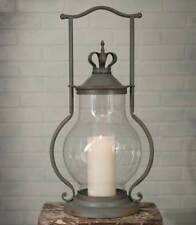 CROWN new large tin Candle Lantern